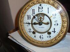 Antique-Seth Thomas-Open Escapement-Clock Movement-Ca.1890-To Restore-#E42