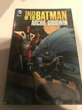 Tales of the Batman Archie Goodwin Hardcover HC DC OOP Manhunter