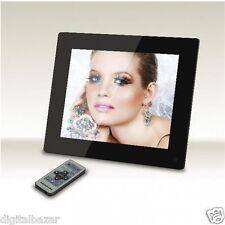 """Cornice digitale 12.1"""" LCD TFT 4:3 in Plexiglass Nero super sottile Foto/Video"""