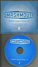 SMASH MOUTH Pacific Coast Party RARE PROMO Radio DJ CD Single 2001 USA MINT