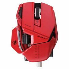 Mad Catz R.A.T.9 transform mouse Wireless Laser Mc-R9-Rd Rat9 Red New