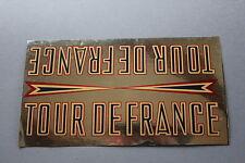 OR Ancien autocollant Tour de France cycle vélo 160*90 mm