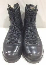 Original Alt-berg Black Leather British Combat Boot Size 5 1/2 Used