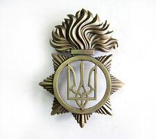 UKRAINE ARMY BADGE ON THE BERET CAP BADGE NEW STANDARD NATIONAL GUARD OF UKRAINE