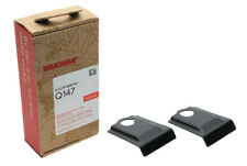 Yakima Q147 Q Tower Clips w/ E Pads & Vinyl Pads #00747 2 clips Q 147 NEW in box