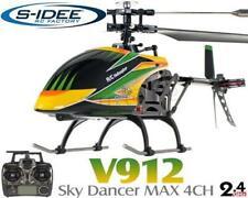 2 x V912 4.5 Kanal 2,4 Ghz Heli Hubschrauber RC ferngesteuerter Hubschrauber/Hel