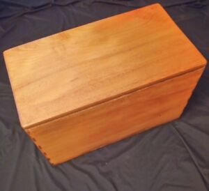 Small Trunk Wooden, Xx Century 24 3/8in Long