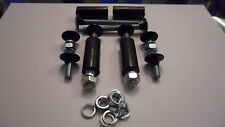 Black Bumper Bolt & Spacer Set MK1 & MK2 Escort + Many More (4 short 4 Long) *