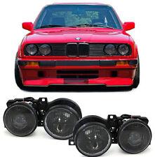 CRYSTAL SMOKED HEADLIGHTS HEADLAMPS BMW E30 3 SERIES 10/1987-12/1993 NICE GIFT