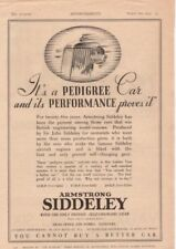 RF2028 1935 35 Armstrong Siddeley Vtg The AutoCar Magazine Ad