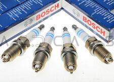 4x BOSCH 3-POLIG Zündkerze SUPER PLUS FR8KTC+ Audi Mercedes-Benz Seat Skoda VW