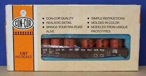 Con-Cor 008408 HO 54' Mill Gondola Kit MRT w Labelle Load NMRA 50th Ltd Ed 1985