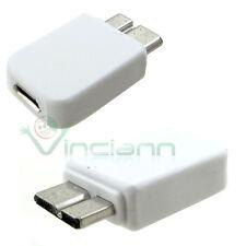 Adattatore convertitore micro USB 3.0 riduttore per Samsung Galaxy Note 3 N9005