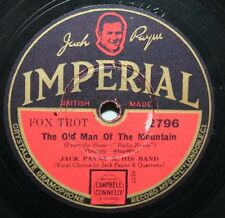 """10"""" 78 - Jack Payne & His Band - The Old Man of the Mountain - Imperial 2796"""