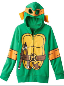 Boy's Teenage Mutant Ninja Turtles Hoodie - New With Tags