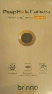 Brinno Front Door PeepHole Security Camera SHC500 14mm - Wire Free