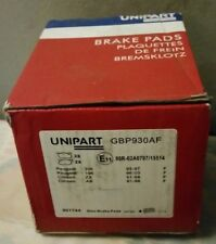 unipart front brake pads to fit Peugeot 306 106 citroen zx ax gbp930af new