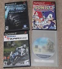 4 Playstation 2 Games Final Fantasy XII, King Kong, Sonic Plus +, TT Superbikes!