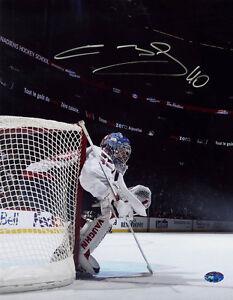 Semyon Varlamov SIGNED 11x14 Photo Capitals RookieGraph PSA/DNA AUTOGRAPHED