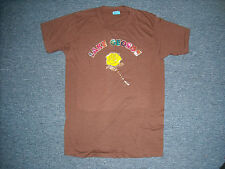 VINTAGE 80'S SCREEN STAR IRON ON TRANSFER LAKE GEORGE T-SHIRT SIZE M