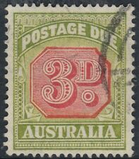 Australia  1938  3d  Postage Due  SG D115  good used