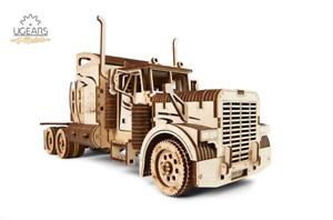 Mechanical UGEARS wooden 3D puzzle Model VM-03 Heavy Truck Construction Set