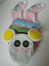 LALALOOPSY Crumbs Sugar Cookie Dress Up Accessory Set Purse Bag Socks Pink NIP