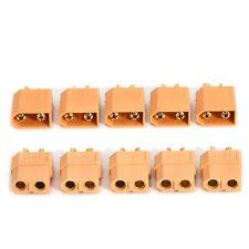 Lots 5 Pairs/10Pcs XT60 Male+ Female Bullet Connectors Plugs for RC Lipo Battery