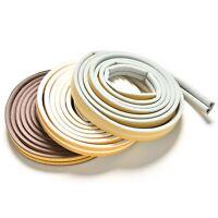 5M D-tipo Adhesivo Cinta Sellos espuma Puerta Ventana Tape Burlete Tira Aislante