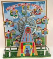 Musical Ferris Wheel V2 Wind Up Tin Toy  Tin Plate Toy Clockwork