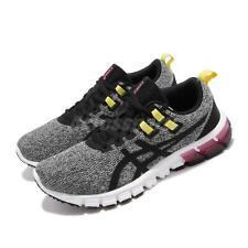 Asics Gel-Quantum 90 Black White Yellow Pink Women Running Shoes 1022A115-002