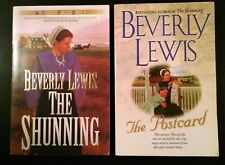 Beverly Lewis, THE SHUNNING & THE POSTCARD  Large Paperback