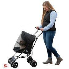 """Pet Gear Stroller 4 Wheel Dog Cat Lightweight Travel Stroller 38"""" Tall New"""
