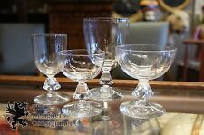 24 Piece Bryce Hand Blown Glass & Crystal Accented Wine Champagne Stemmed Ware