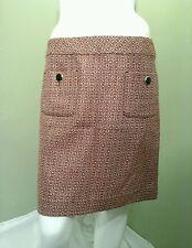Ann Taylor LOFT Multi Colored Tweed Skirt  ~Size 6