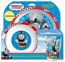 Spearmark 3 Piece Thomas & Friends Tumbler Bowl and Plate Set