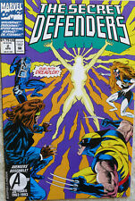 MARVEL COMICS SECRET DEFENDERS April 2, 1993 30 Years Duel w/ Dreadlox  Lee MINT
