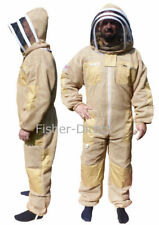 Beekeepers Bee Suit Veil Beekeeping 3 layer ultra ventilated olive suit