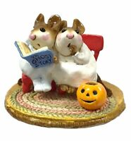 Wee Forest Folk, M-225 Scary Stories, Halloween With Box