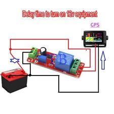 Ship Dc 12v Delay Relay Shield 555 Timer Switch Adjustable Module 0 10 Sec 3pcs