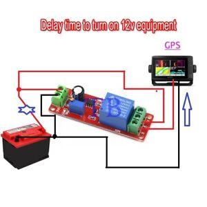 SHIP DC 12V Delay Relay Shield 555 Timer Switch Adjustable Module 0-10 sec 3Pcs