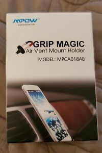 New Mpow Grip Magic Magnectic Car Mount Holder Air Vent Mobile phone Universal