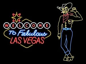 Welcome To Las Vegas, Retro Metal Plaque/Sign Pub, Bar, Man Cave, Novelty Gift