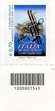 1545 CODICE A BARRE LATO SINISTRO 0.70 TURISMO, MANIFESTO STORICO ENIT ANNO 2013