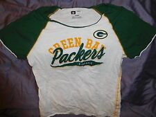Green Bay Packers Football  T-Shirt ~Woman's Size L