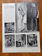 1941 Theater Ad Billy Rose Stages Class by Night Tullulah Bankhead Lee J Cobb