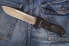 """Russian Tactical knife """"Dominus Satin (AUS-8 Steel) + sheath Kizlyar Supreme"""
