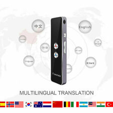 T8+ Translaty 2-Way Smart Instant Real Time Voice 40 Languages Translator RC