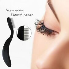 Stainless Steel Teeth Eyelash Comb Eyebrow Brush Makeup Beauty Tools