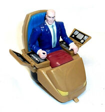 """MARVEL COMICS VINTAGE 5 """"X uomini Professor X figura in HOVER Chair molto rara"""